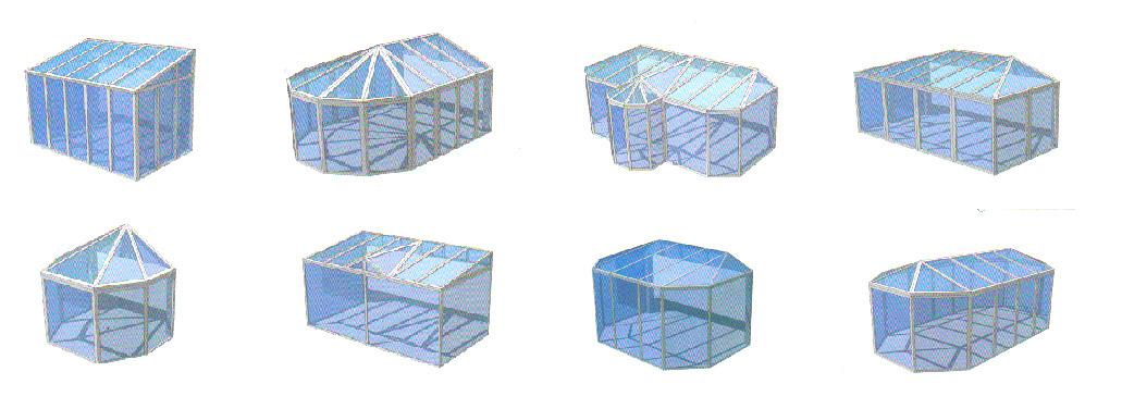 Différentes formes pour votre véranda ou extension