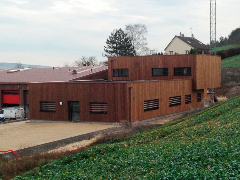 Centre de Secours de Tonnerre dans l'Yonne