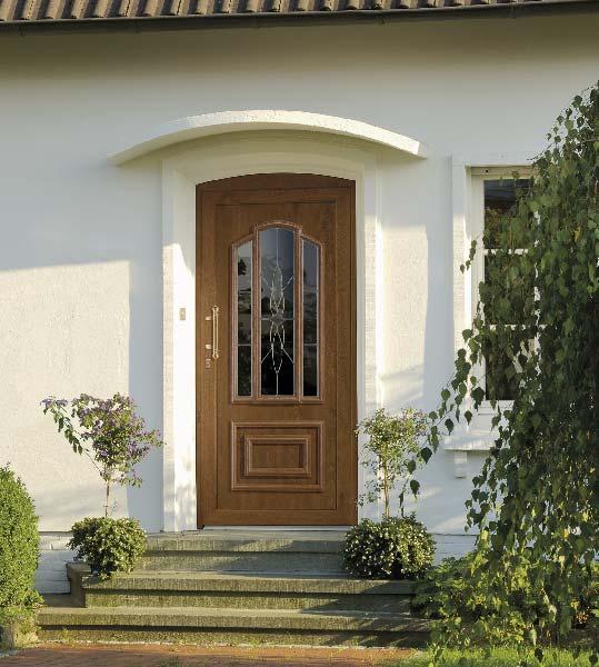 Porte tradition vitrée